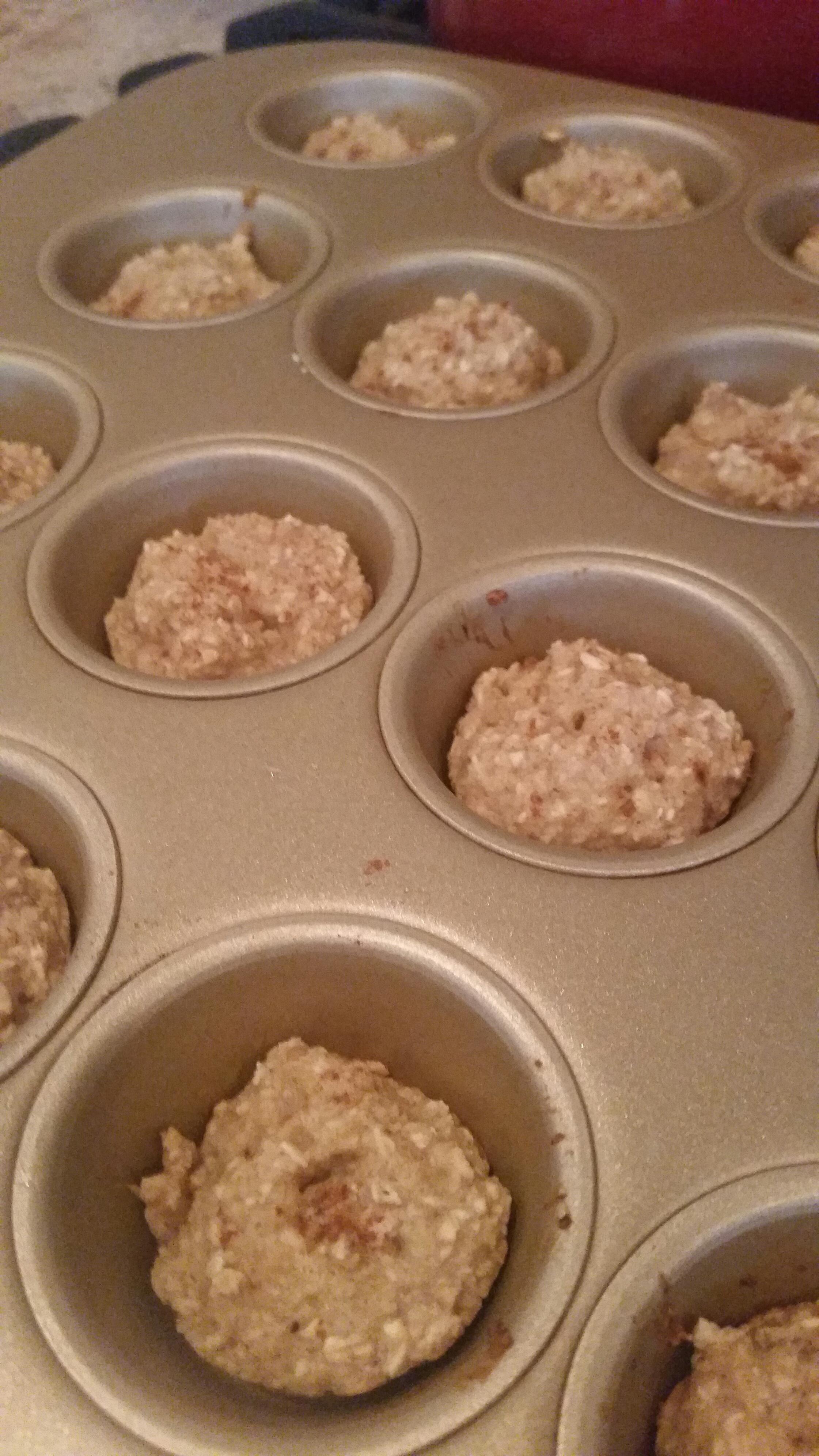 Organic 2 Ingredient Baby Muffins